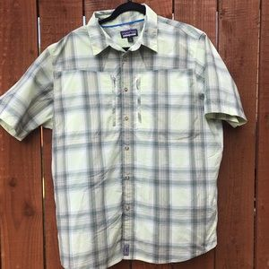 Patagonia T-shirt, Button Up